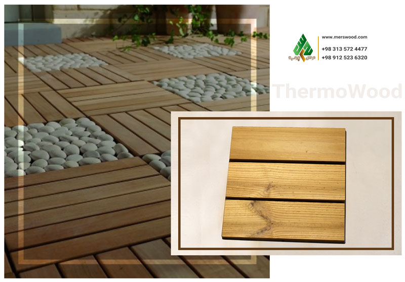 Thermowood Tile (Pine)