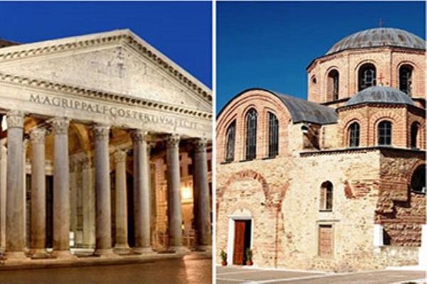 نما در معماری روم شرقی