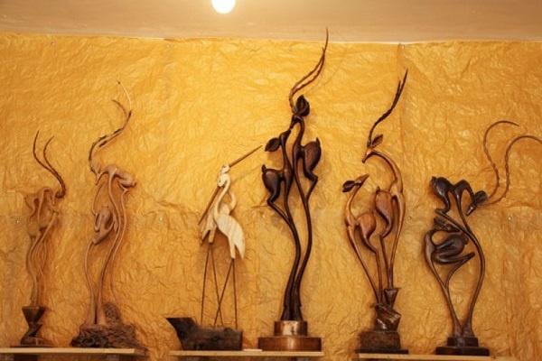 صنایع دستی چوبی در ایران